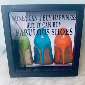Other - Shoe Fund Decorative Adult Piggy Bank
